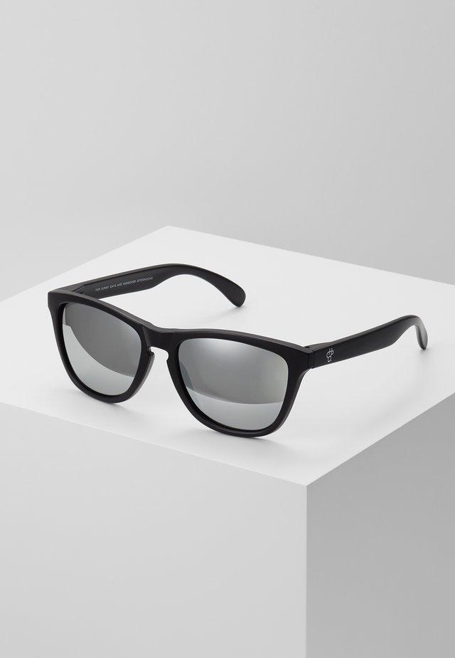 BODHI - Sunglasses - black/silver