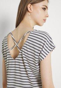 Vero Moda - VMALONA - Basic T-shirt - navy blazer/white - 3