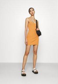 Bec & Bridge - MARGOT MINI DRESS - Sukienka etui - nutmeg - 1