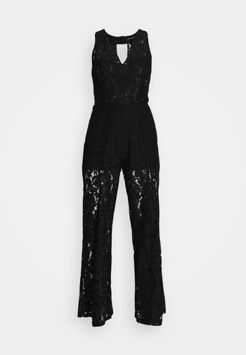 RACHAEL OVERALL - Overal - jet black