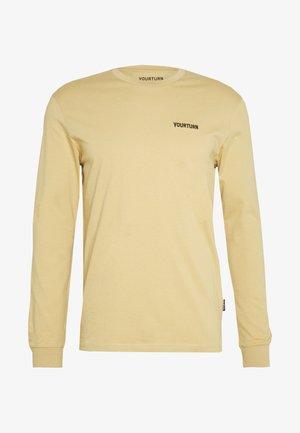 T-shirt à manches longues - tan