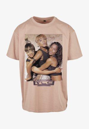 T-shirt print - amber