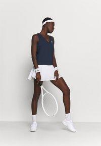 Nike Performance - TANK - T-shirt sportiva - obsidian/white - 1