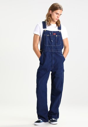 BIB OVERALL - Overall /Buksedragter - rinsed indigo/blue