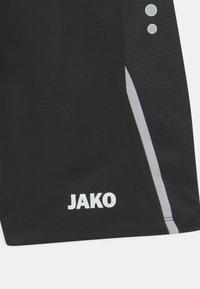 JAKO - CHALLENGE UNISEX - Sports shorts - schwarz/weiß - 2