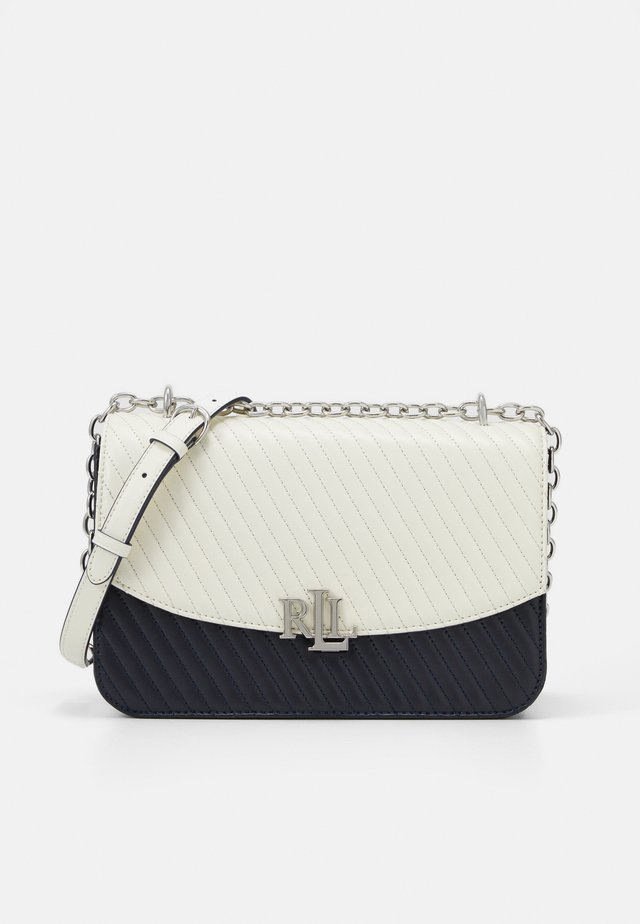 MADISON CROSSBODY LARGE - Across body bag - vanilla/navy