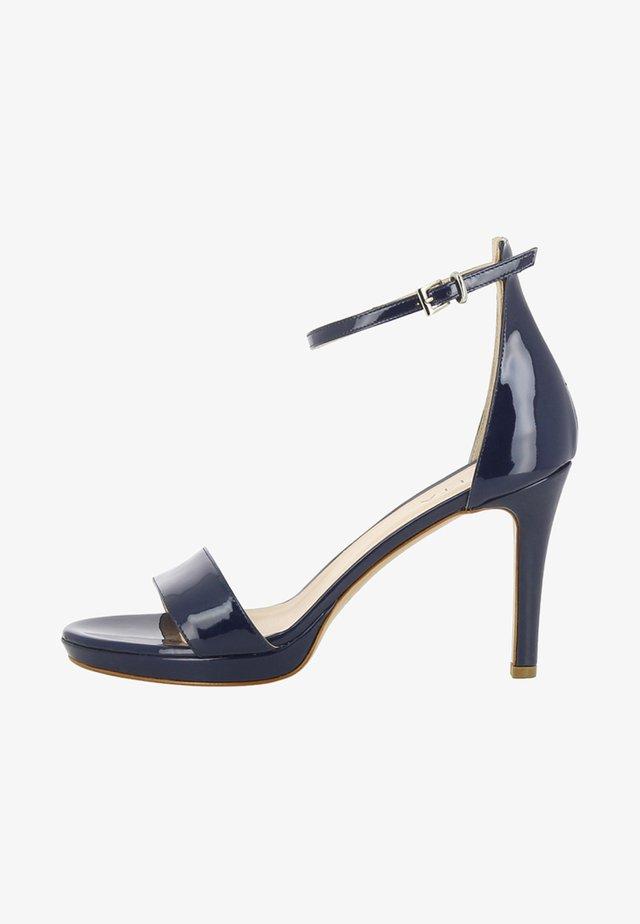 Sandales à talons hauts - dark blue