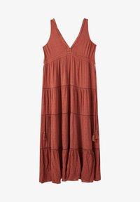 PULL&BEAR - Maxi dress - light brown - 4