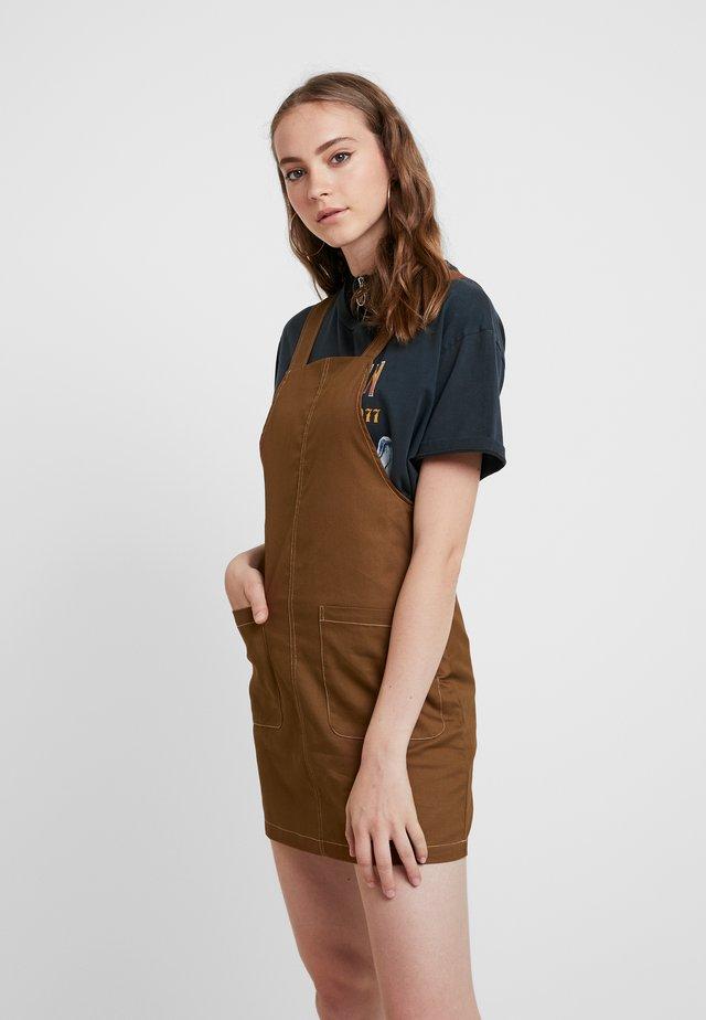 Vestido informal - bison/cream