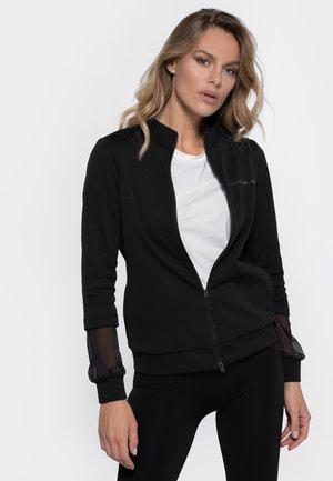 ZIP-UP DIBI STUD - Zip-up sweatshirt - black