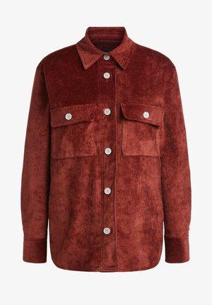 Light jacket - maroon