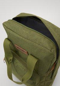 Fabrizio - BEST WAY BACKPACK - Školní taška - olive green - 4
