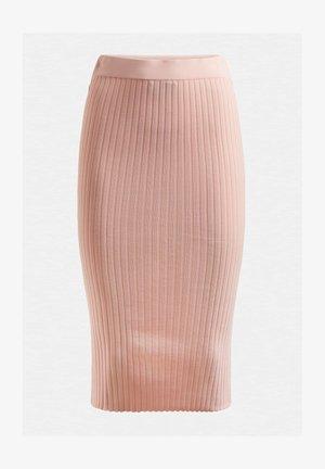 Pencil skirt - rose