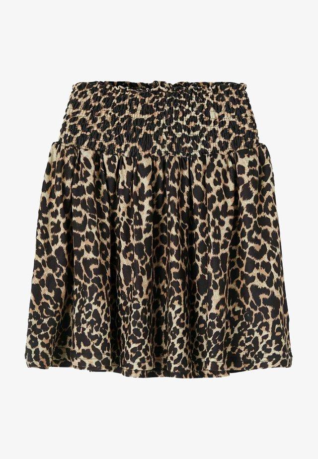 A-line skirt - travertine