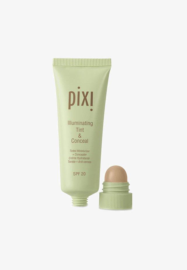 ILLUMINATING TINT & CONCEAL - Tinted moisturiser - no.3 nude glow