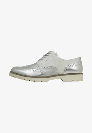 ISABELLE - Lace-ups - silver