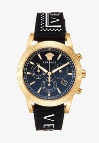 Versace Watches - SPORT TECH - Chronograph watch - black - 1