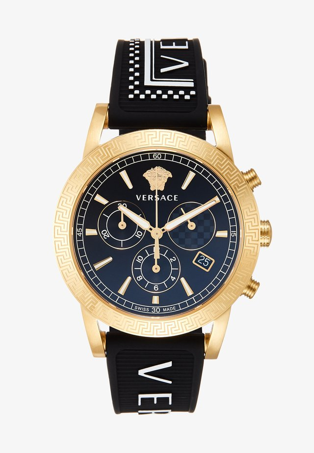 SPORT TECH - Chronograph watch - black