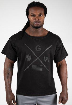 SHELDON WORKOUT - T-shirt print - black