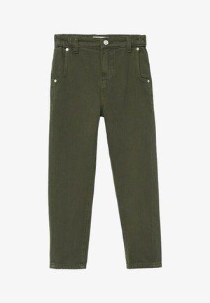 Kalhoty - olijfgroen