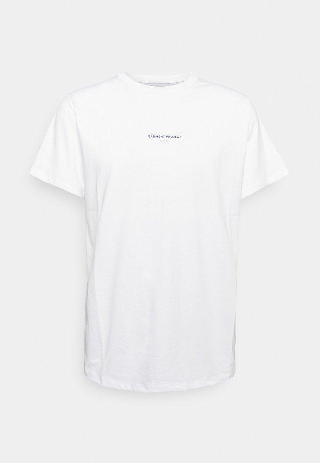 BEST TEE - Print T-shirt - white