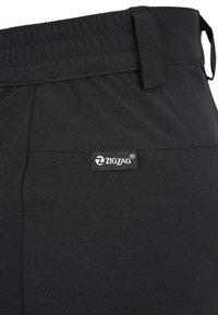 ZIGZAG - NUCLA W PRO - Trousers - black - 3