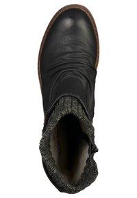 Rieker - Stivali con i lacci - black/grey - 4