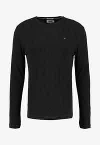 ORIGINAL SLIM FIT - Long sleeved top - black