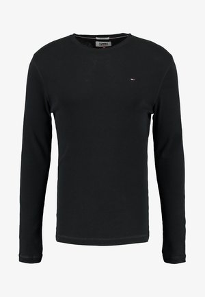 ORIGINAL SLIM FIT - Top s dlouhým rukávem - black