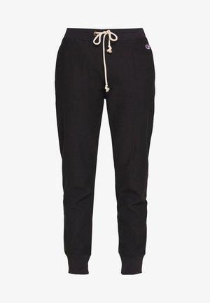 CUFF PANTS - Træningsbukser - black