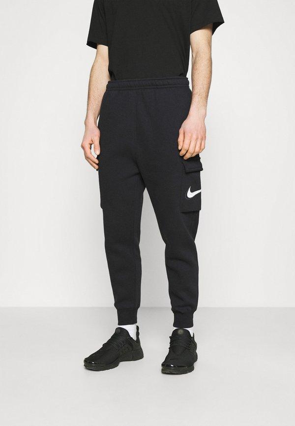 Nike Sportswear COURT PANT - Spodnie treningowe - black/czarny Odzież Męska NVKP