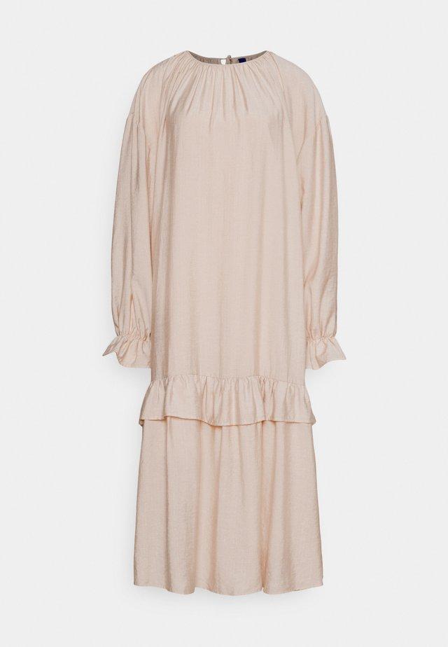 DAMARA DRESS - Korte jurk - oat