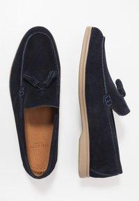 Hackett London - Elegantní nazouvací boty - navy - 1