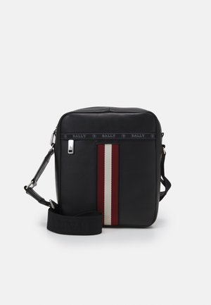 HOLM - Borsa a tracolla - black/red