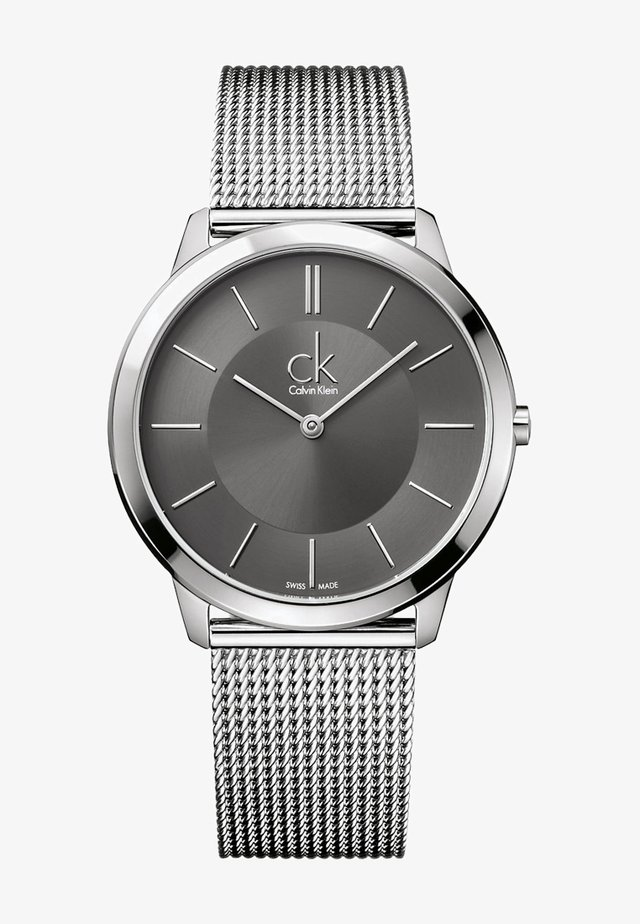 MINIMAL - Watch - silver-coloured/anthracite