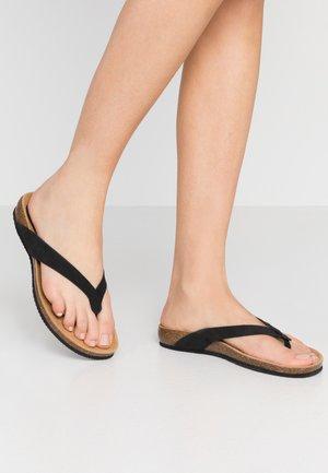 TISTOIS - Sandaler m/ tåsplit - noir
