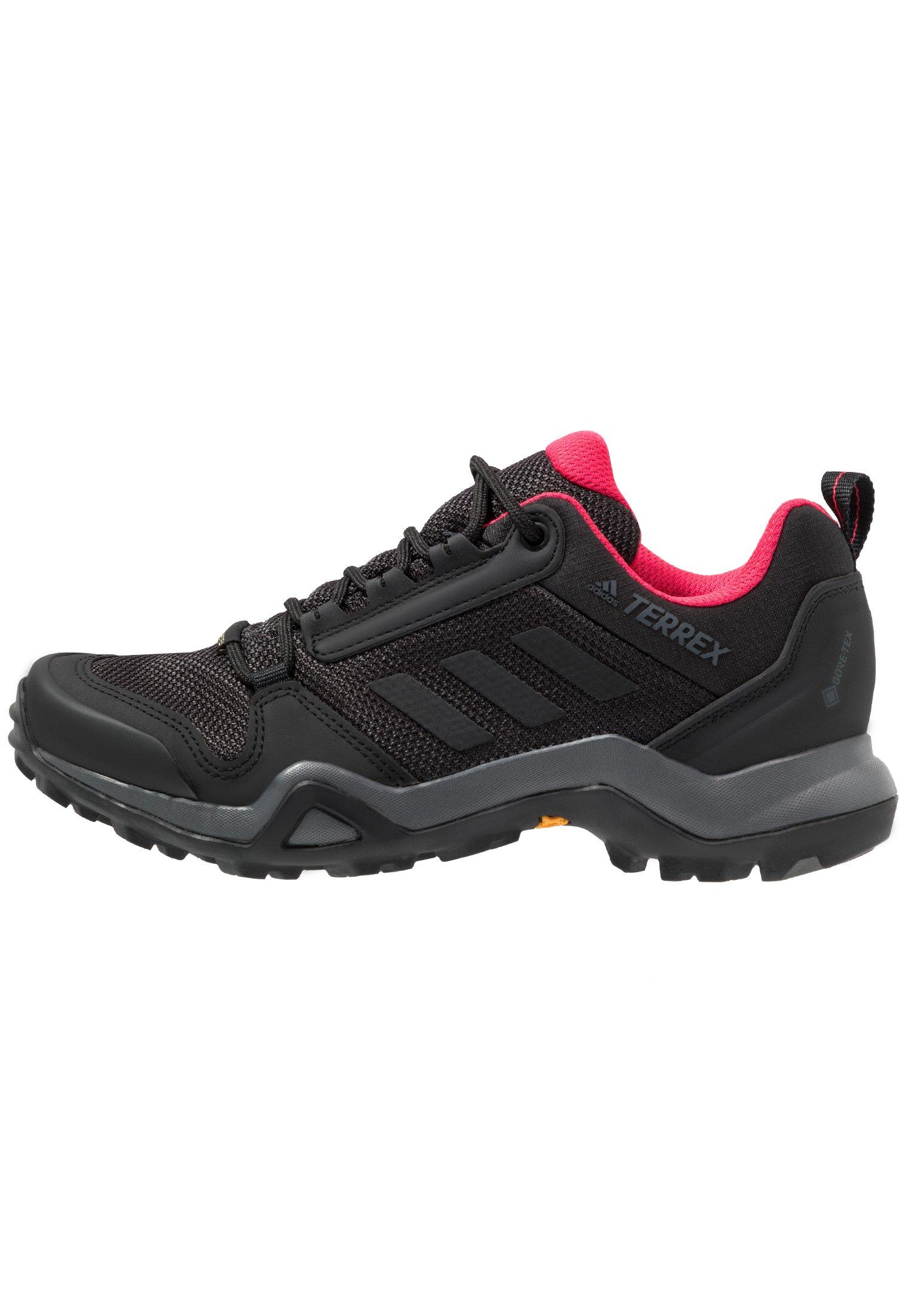 Adidas Mens Terrex AX3 Chaussures de marche-GRIS Sports Extérieur Respirant