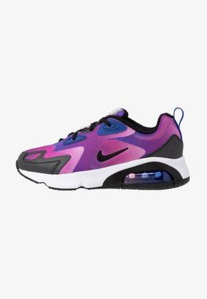 AIR MAX 200 - Sneakersy niskie - hyper blue/white/vivid purple/magic flamingo/black