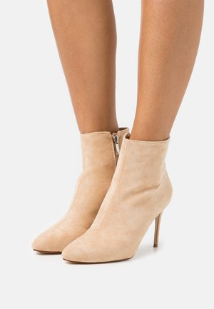 ALMATY - High heeled ankle boots - nude