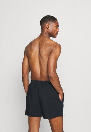PEACHY SOFT BEACH SHORTS - Swimming shorts - black