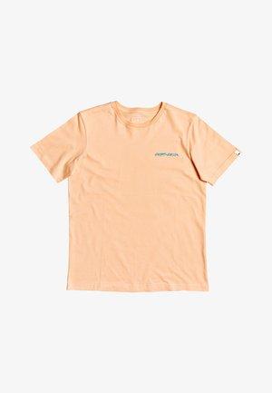 Print T-shirt - coral sands