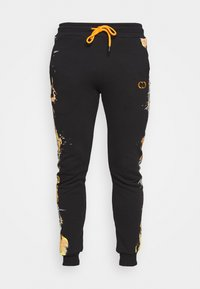 Criminal Damage - BARB FLAME - Tracksuit bottoms - black