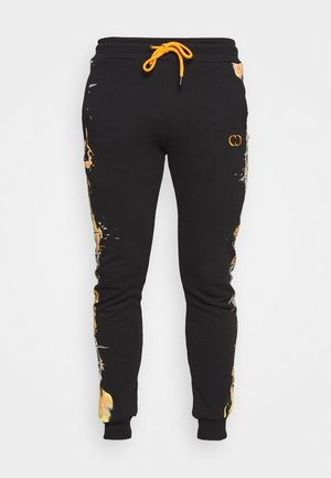 BARB FLAME - Tracksuit bottoms - black