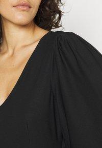 Vero Moda - VMODETTA DRESS - Jersey dress - black - 5