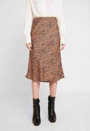 PEARL SKIRT - A-line skirt - raw umber
