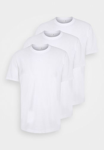MIO 3 PACK - Basic T-shirt - white