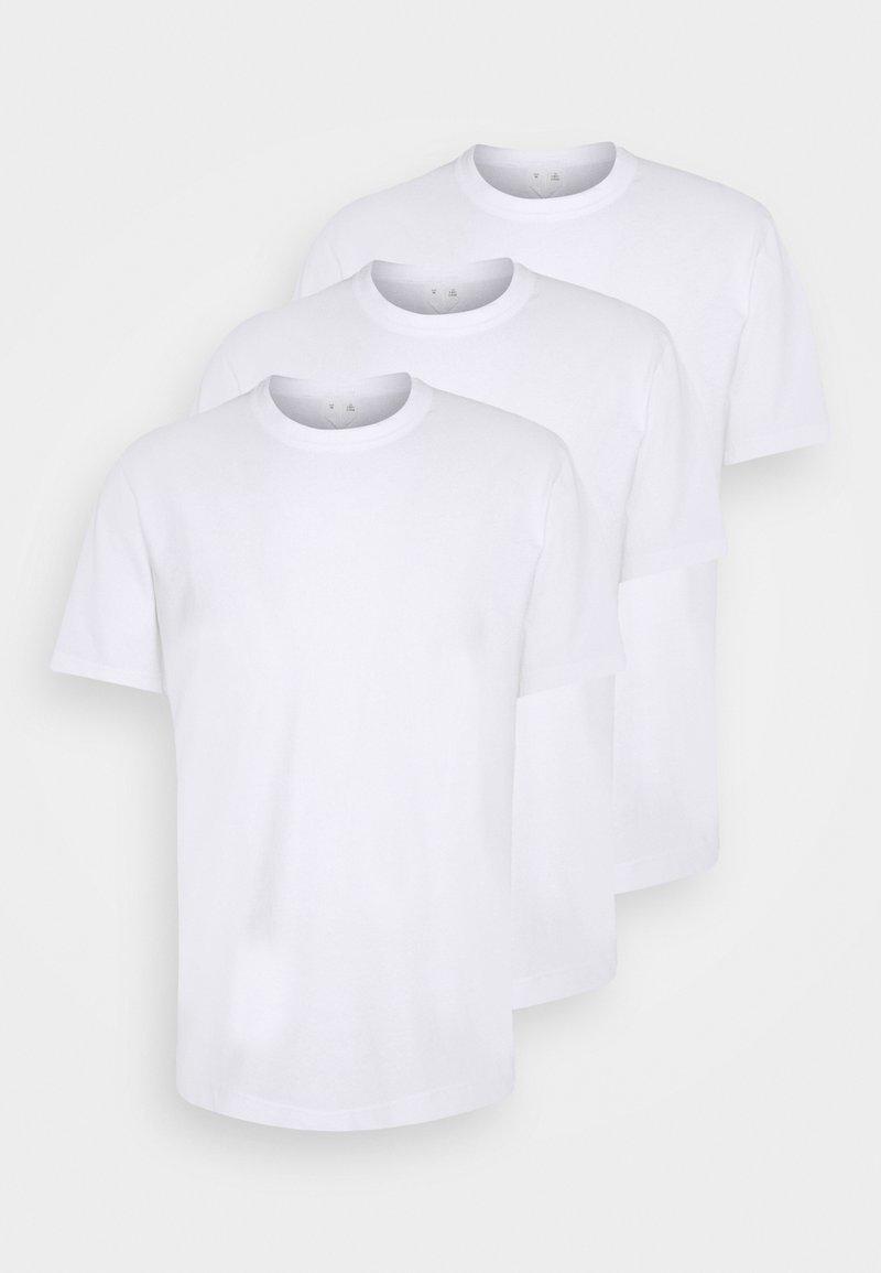 ARKET - UNI - Jednoduché triko - white