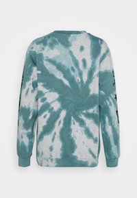 NEW girl ORDER - TIE DYE ETCHED GRAPHIC - Sweatshirt - dark blue - 1