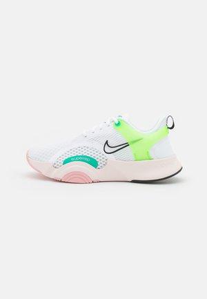 SUPERREP GO 2 - Sportschoenen - white/black/green strike/light soft pink/pink glaze/roma green