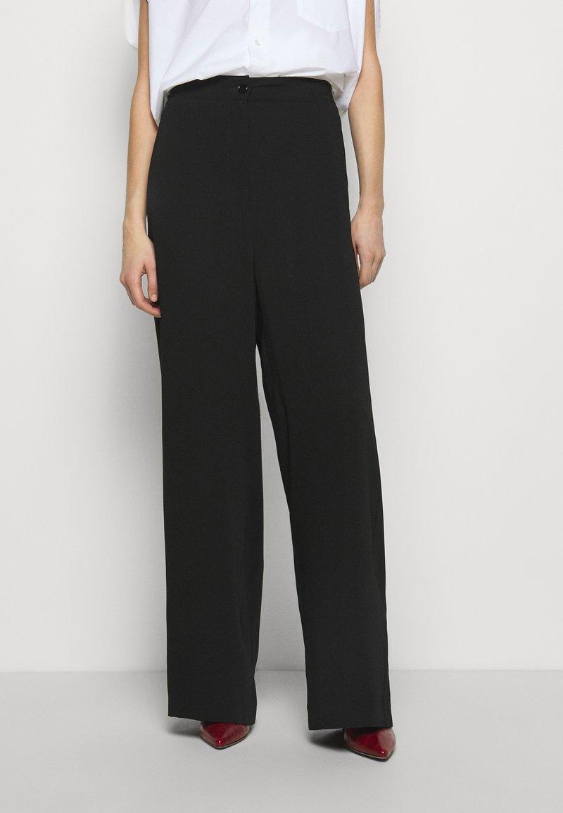 MM6 Maison Margiela - Trousers - black